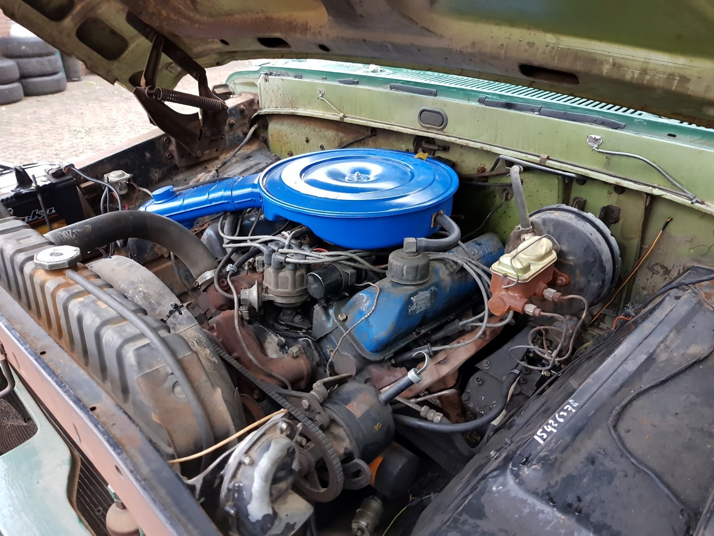 1968 Ford F100 With 390ci Speed Monkey Cars Engine 16