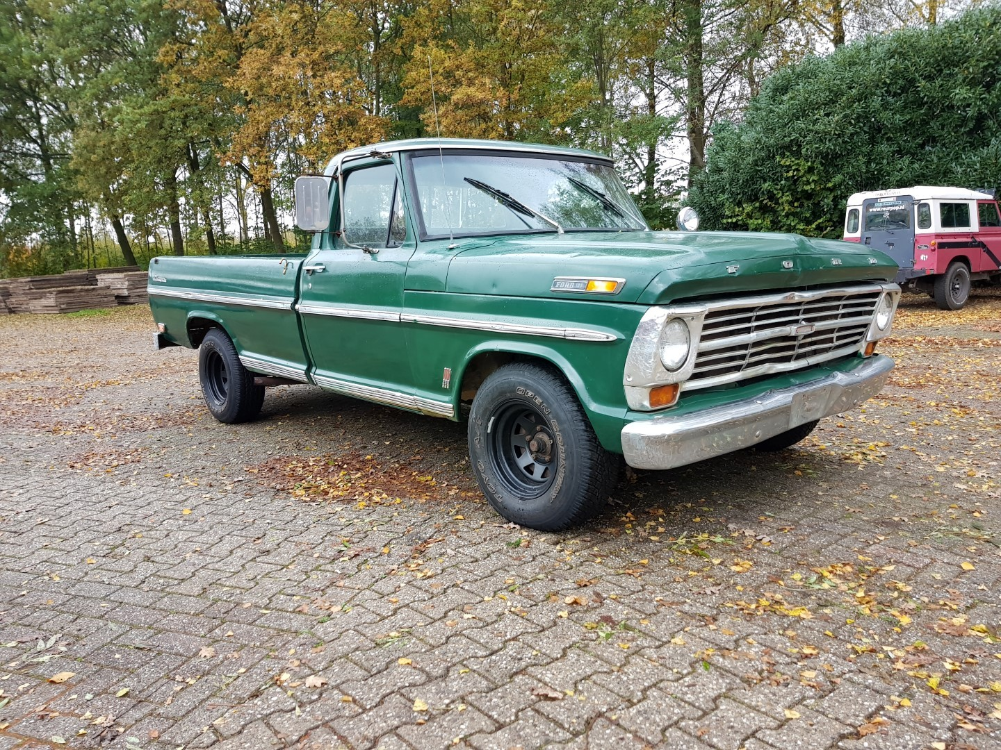 1968 Ford F100 with 390ci (8)