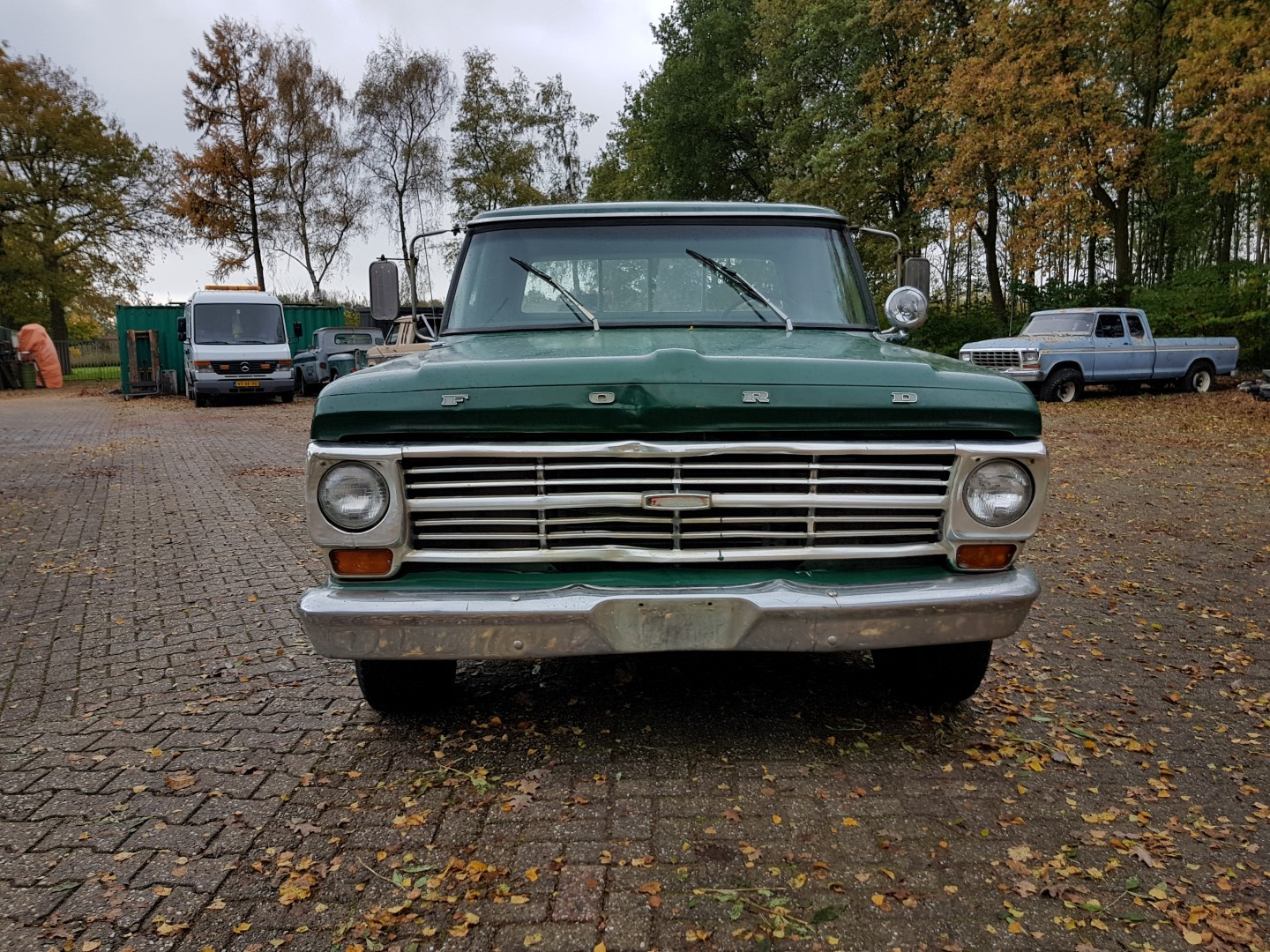1968 Ford F100 with 390ci (9)