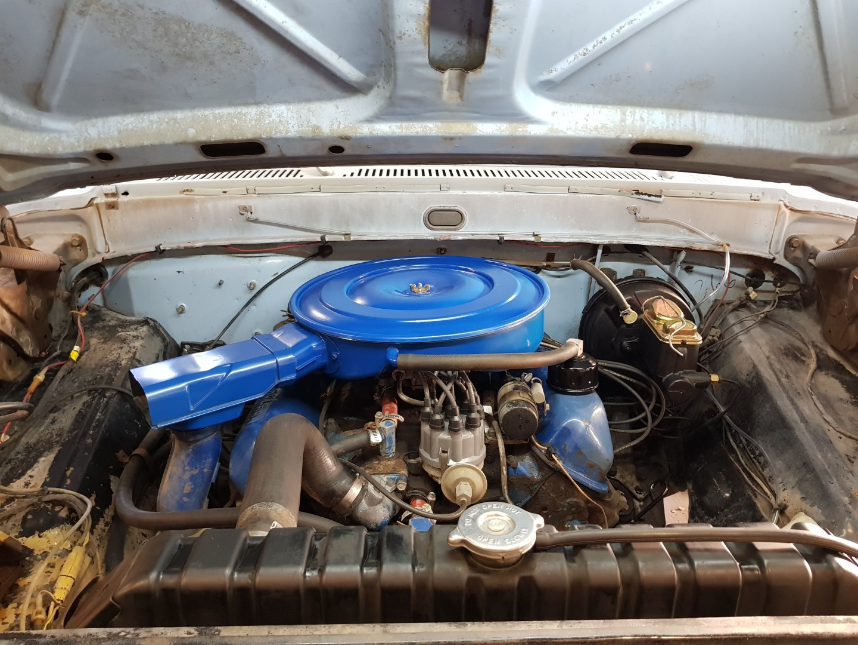 1968 Ford F250 Camper Special 360ci V8 Manual (16)