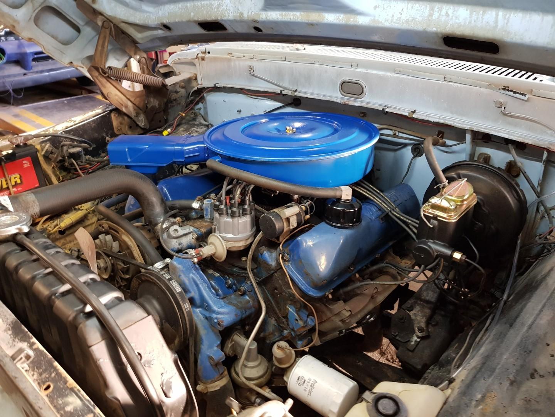 1968 Ford F250 Camper Special 360ci V8 Manual (17)