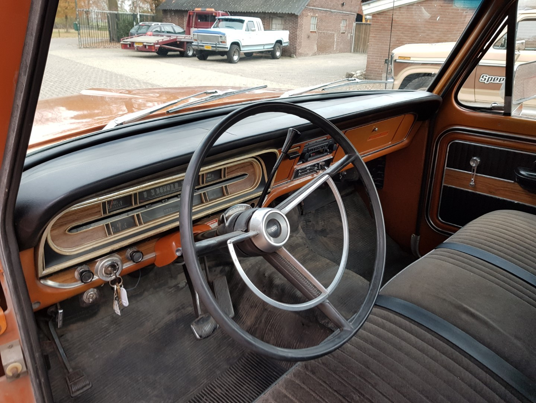 1969 Ford F250 390ci V8 automatic (10)