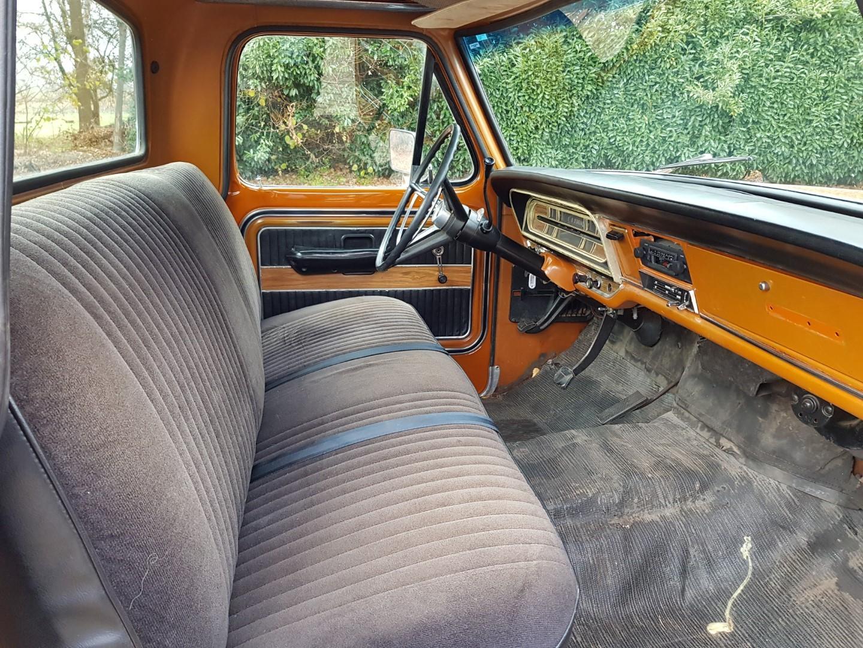 1969 Ford F250 390ci V8 automatic (12)