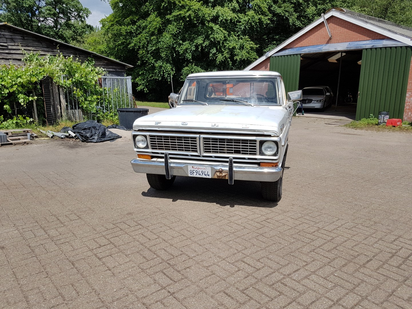 1970 Ford F250 Camper Special 360ci V8 Speed Monkey Cars 1964 12