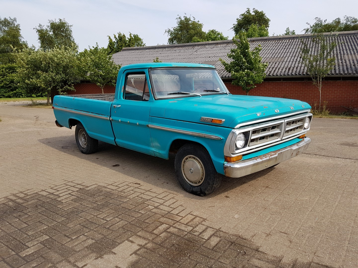 1971 ford f100 speed monkey cars