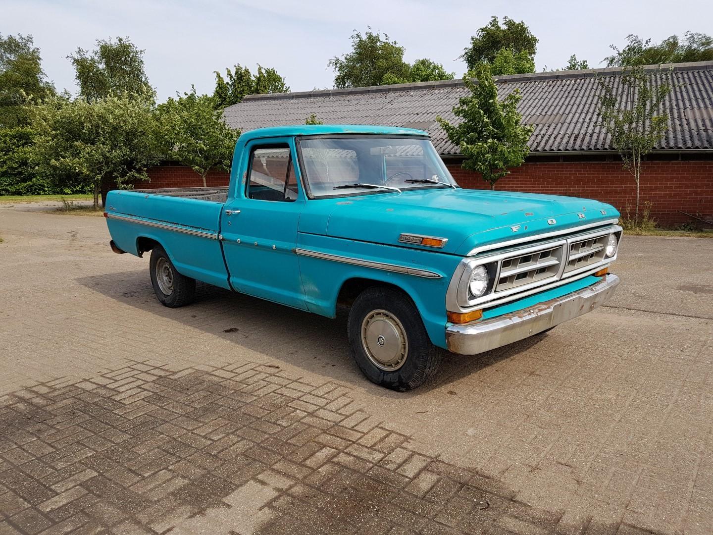1971 Ford F100 302ci V8 (8)
