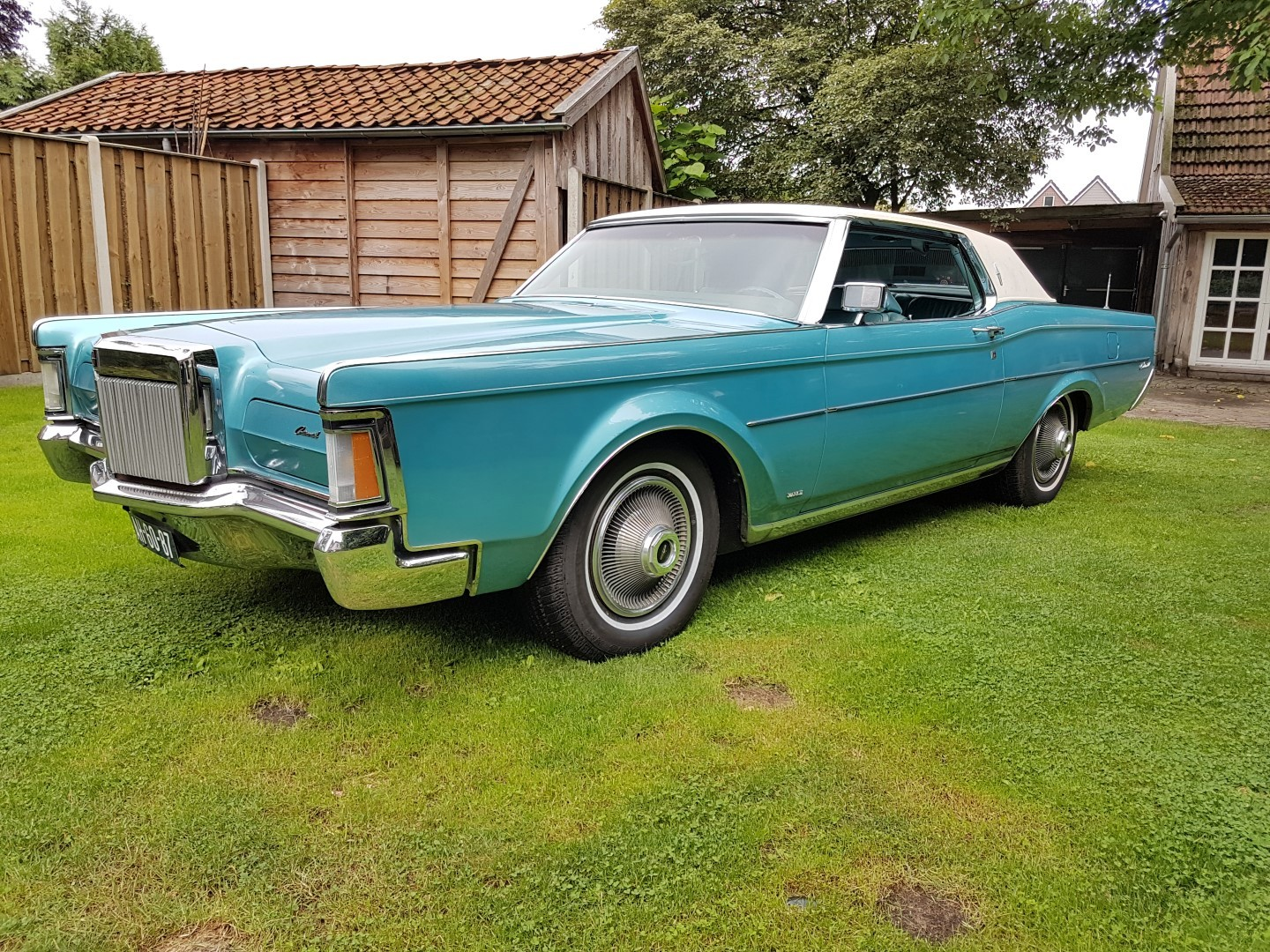 1971 Lincoln Mark III - 460ci (2)