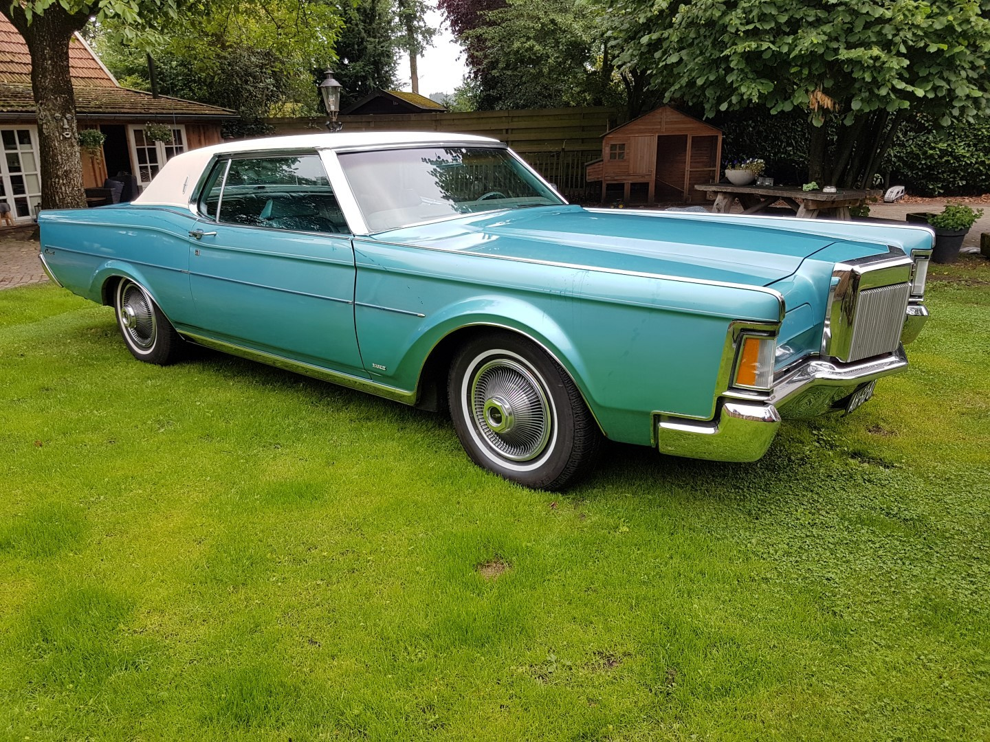 1971 Lincoln Mark III - 460ci (4)