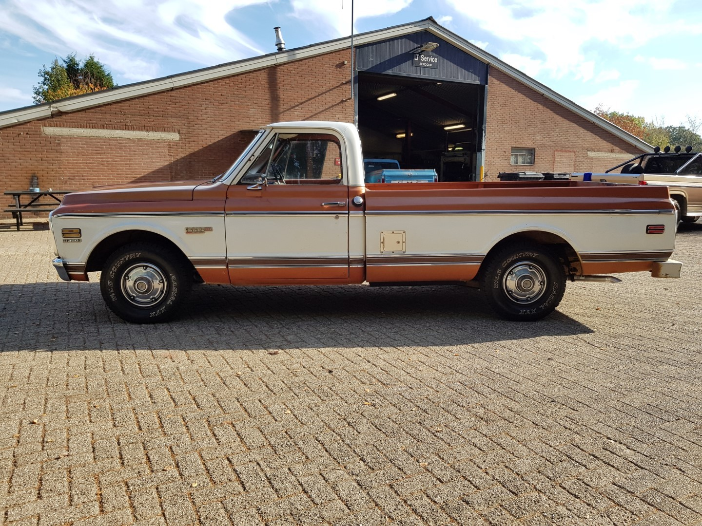 1972 Chevrolet C10 Pickup With Factory Super Cheyenne Package 1983 Chevy Truck 350ci 15