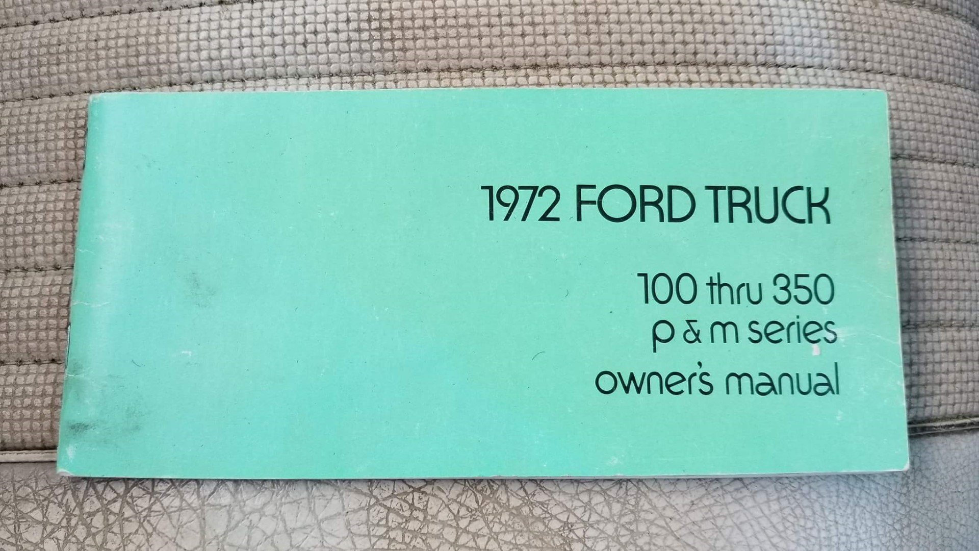 1972 Ford F250 390ci (1)