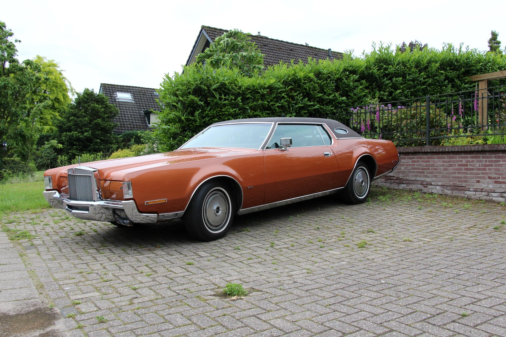 1972 Lincoln Continental Mark Iv Speed Monkey Cars