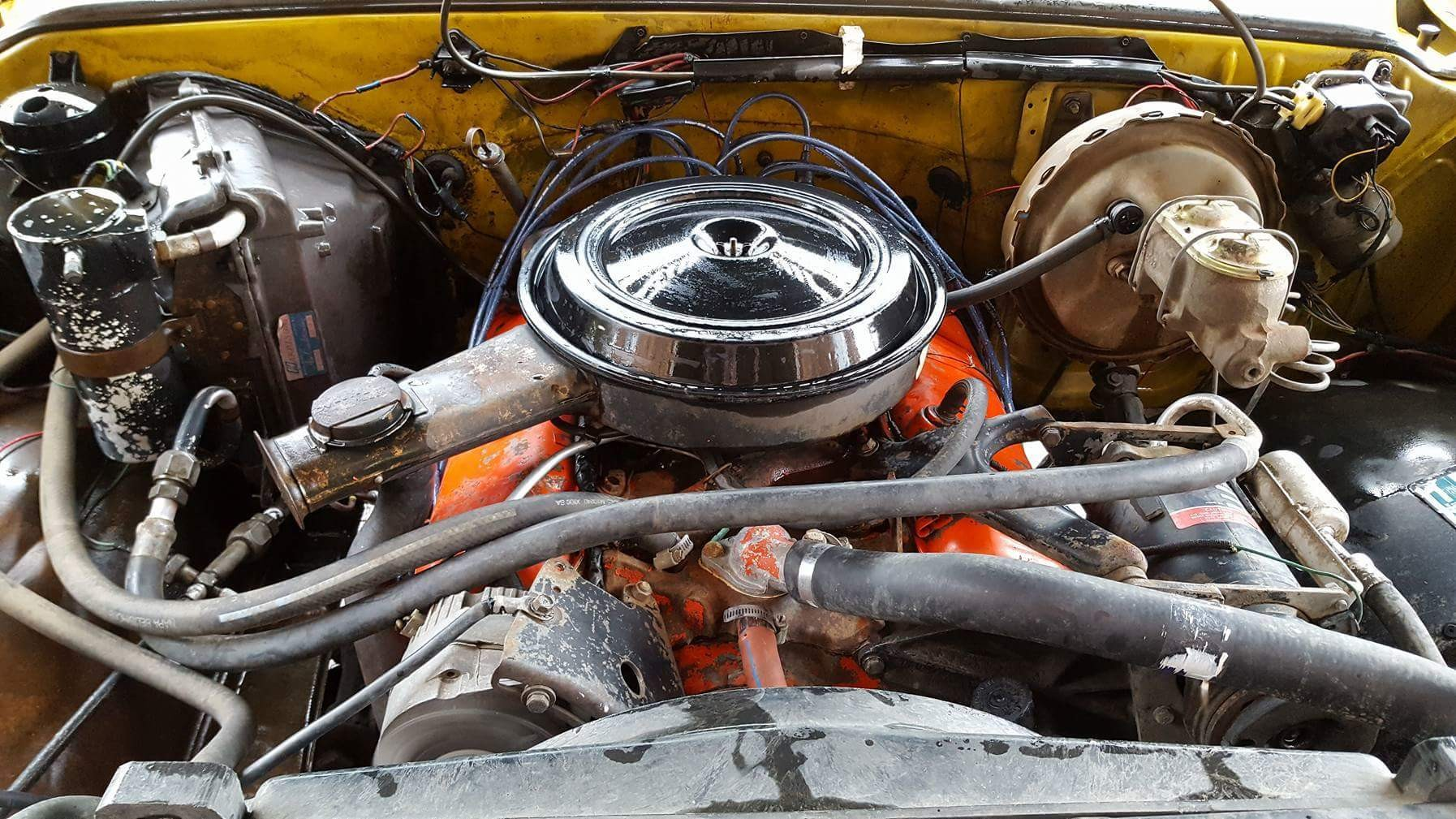 1973 Chevrolet C20 Cheyenne - 454ci - yellow (1)