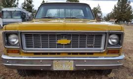 1973 Chevrolet C20 Cheyenne - 454ci (4)
