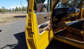 1973 Chevrolet C20 Cheyenne - 454ci - yellow (2)