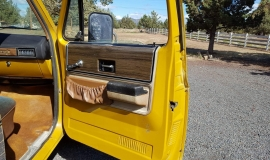1973 Chevrolet C20 Cheyenne - 454ci - yellow (3)