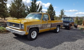 1973 Chevrolet C20 Cheyenne - 454ci - yellow (4)