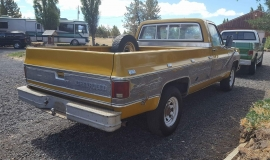 1973 Chevrolet C20 Cheyenne - 454ci - yellow (7)