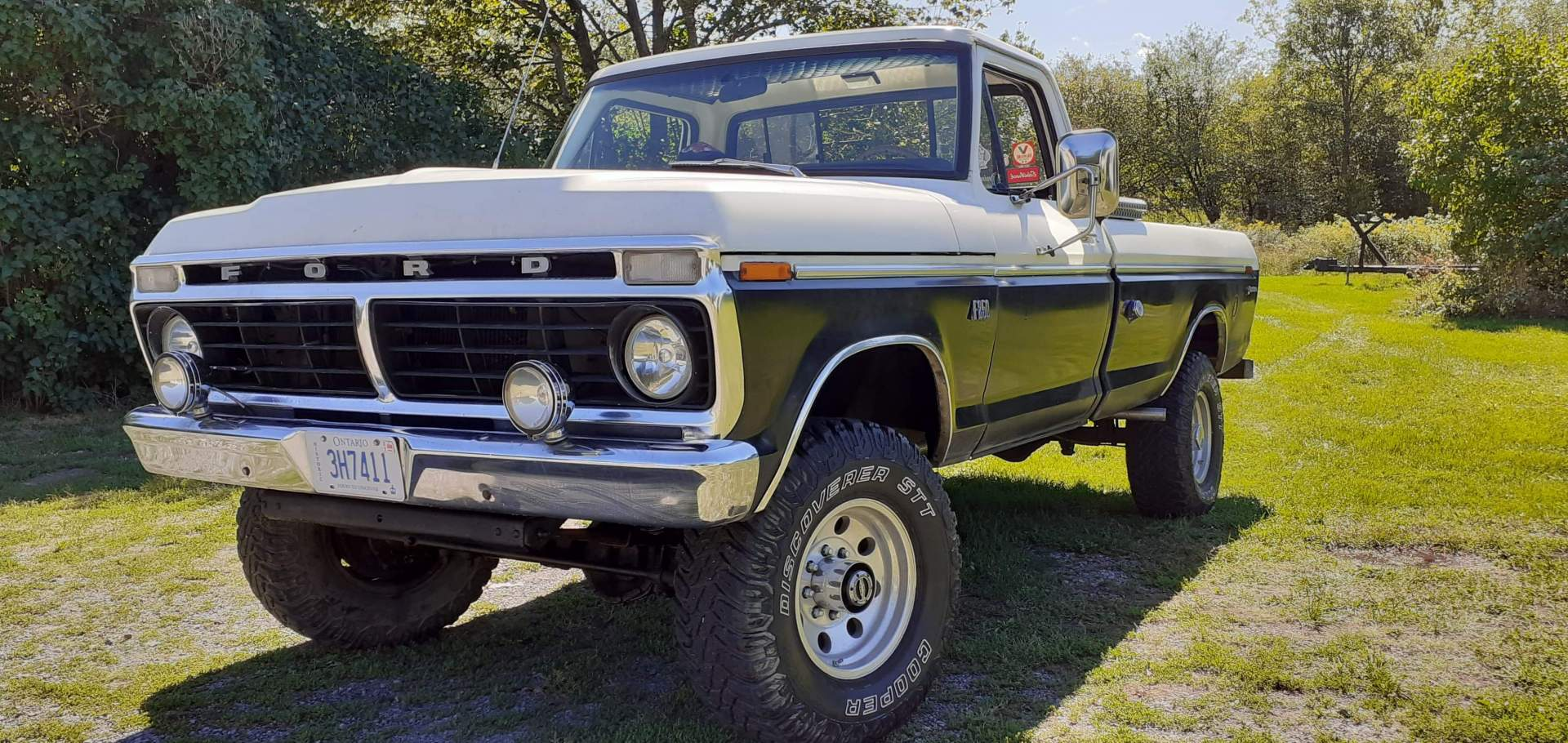 1973 Ford F250 Highboy 4 4 With 360ci V8 And 4 Speed Manual Speed Monkey Cars