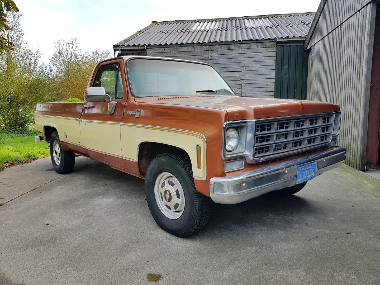 1977 Chevrolet Cheyenne 20 454ci (9)