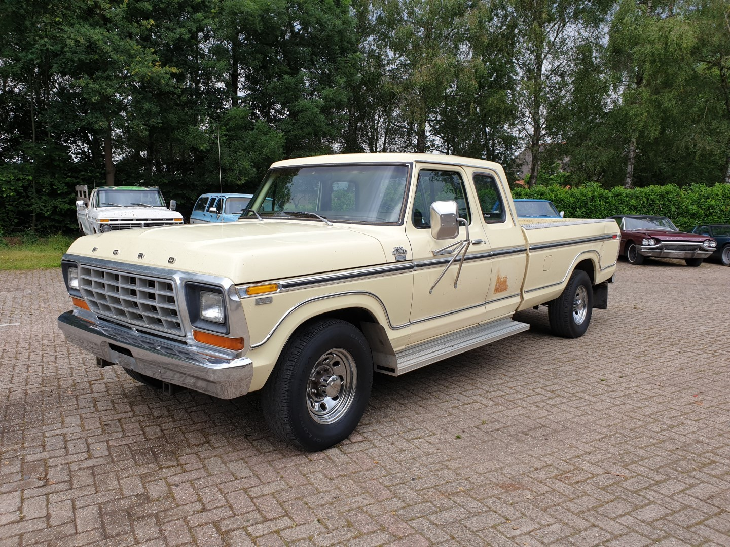 1978 Ford F250 Xlt Lariat Camper Special Supercab 460ci Speed Monkey Cars