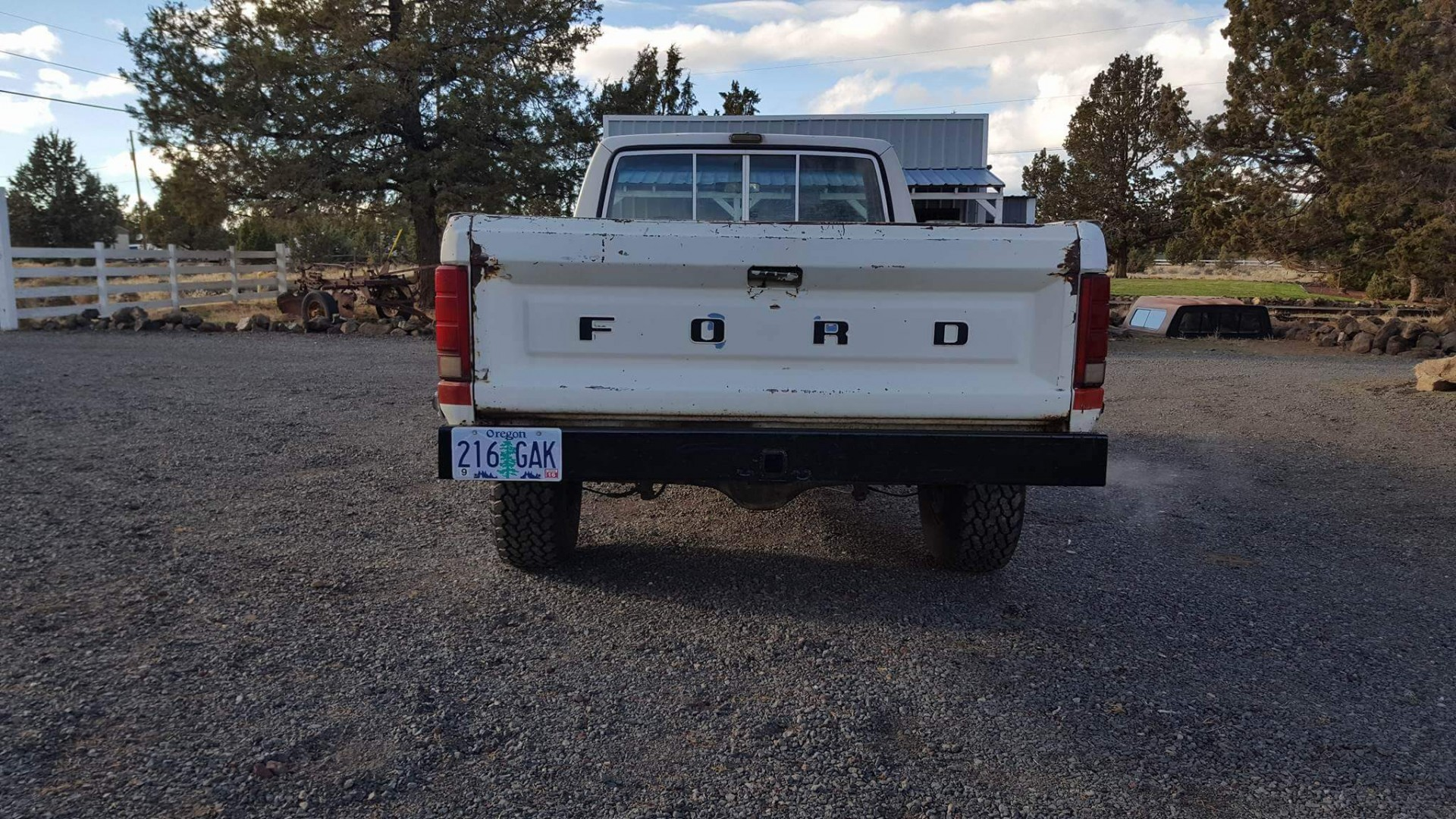 1981 Ford F150 4x4 with 351ci V8 (13)