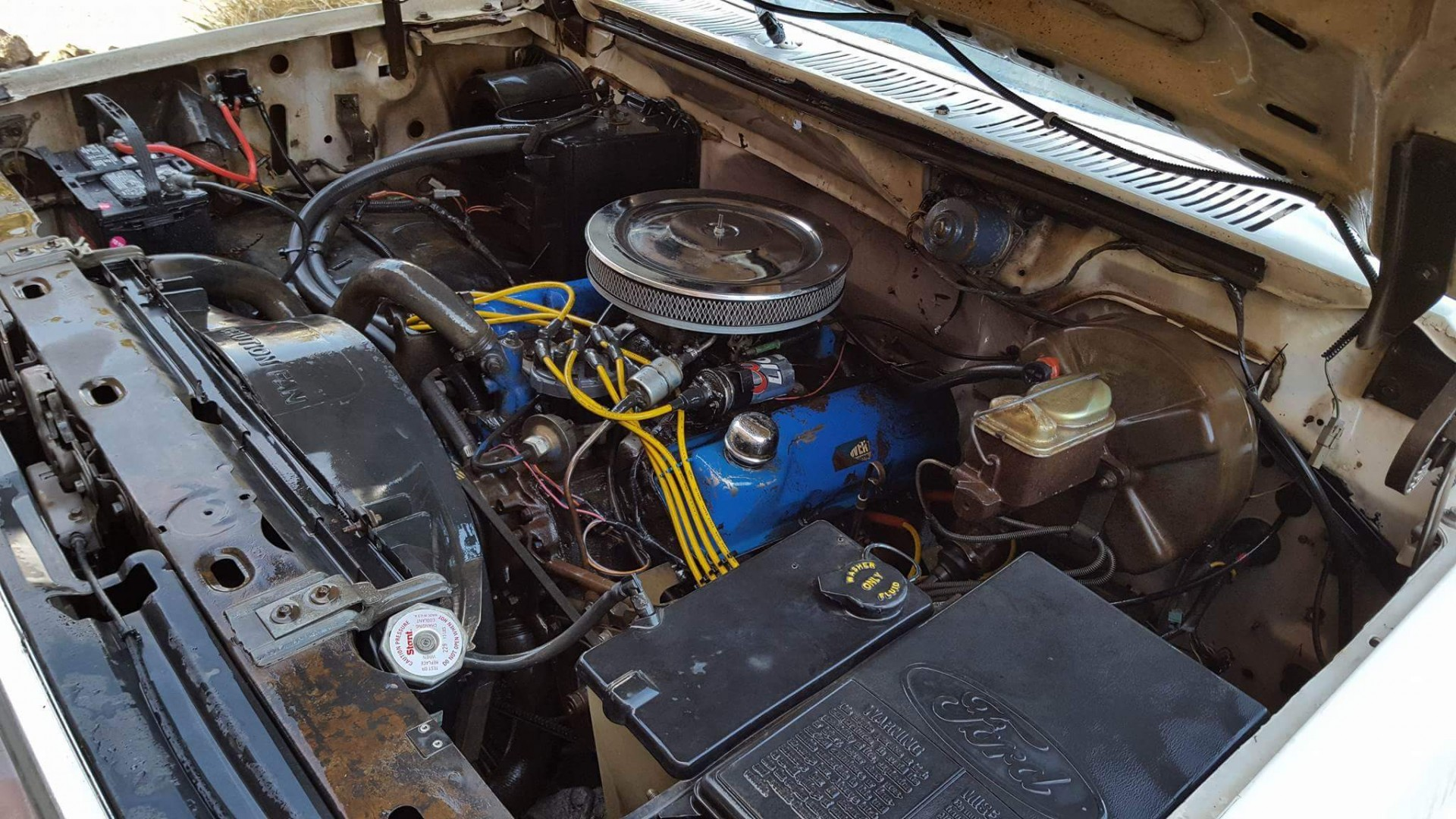 1981 Ford F150 4x4 with 351ci V8 (2)