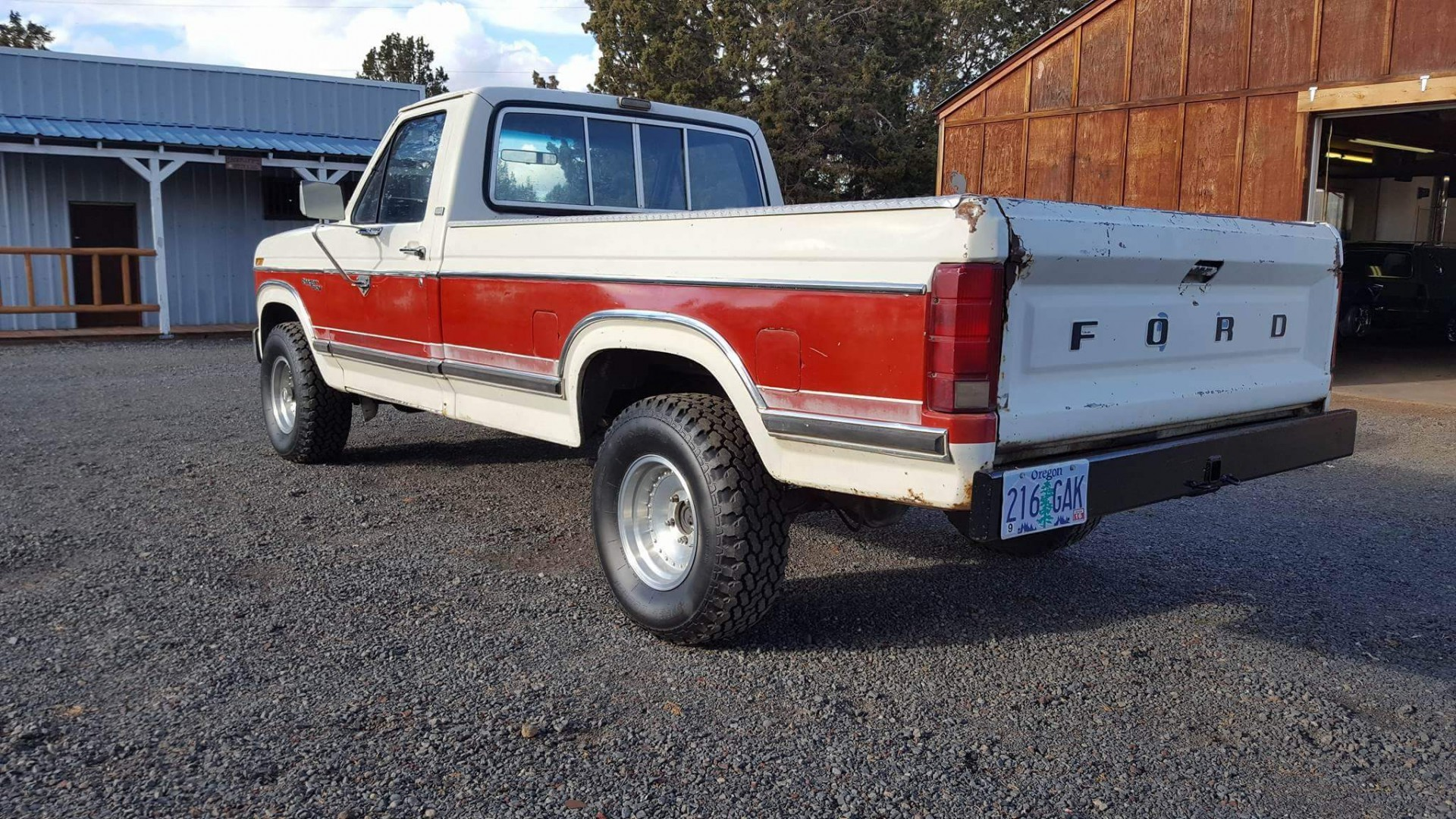 1981 Ford F150 4x4 with 351ci V8 (9)
