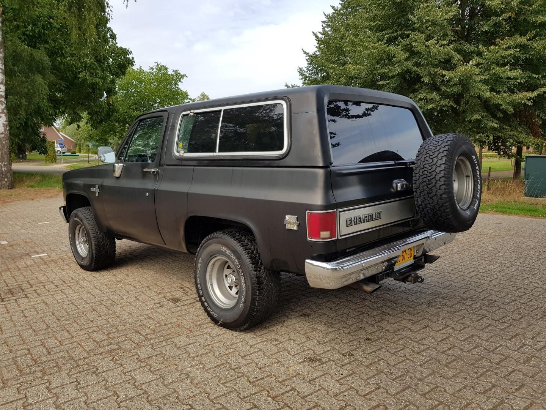 1983 Chevrolet Blazer K5 4 4 350ci V8 Speed Monkey Cars