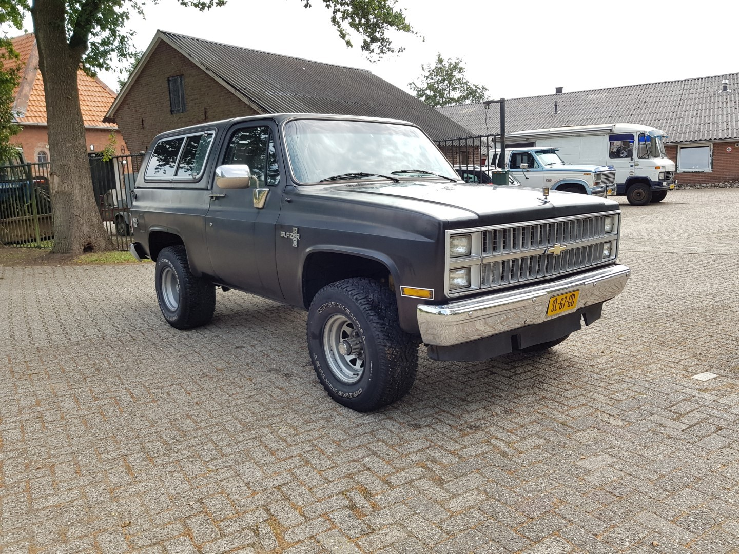 1983 Chevrolet Blazer K5 4x4 350ci V8 Speed Monkey Cars Black 7