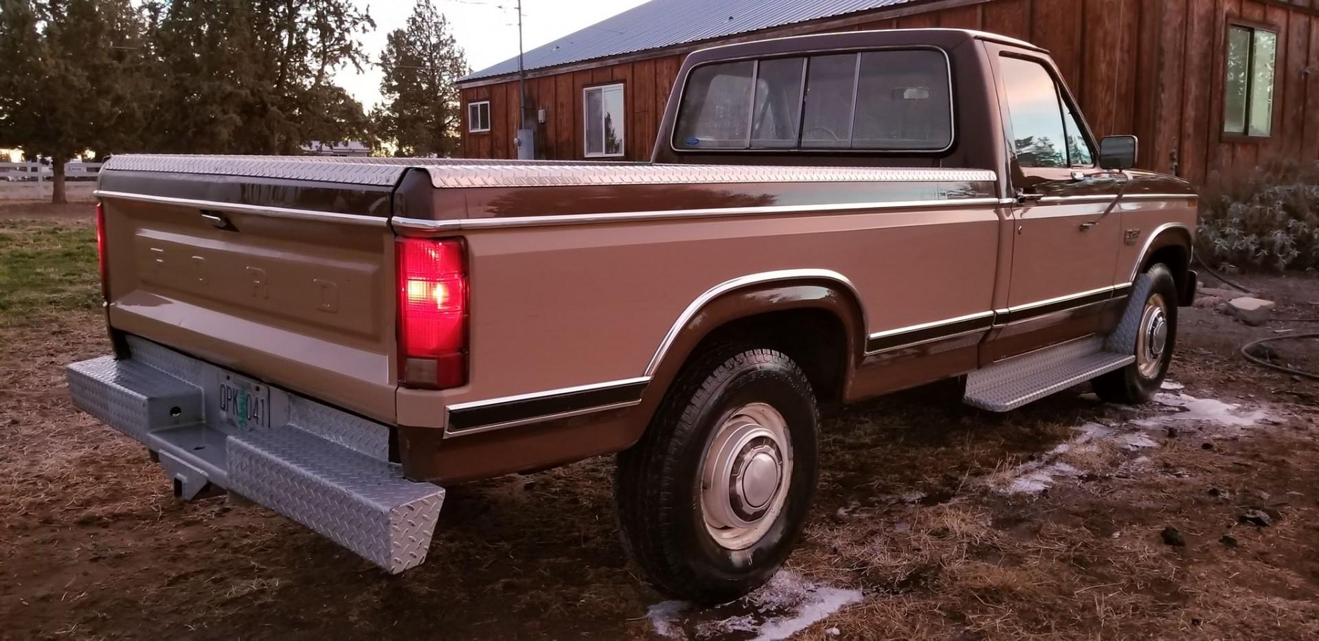 1983 Ford F250 351ci - C6 (14)