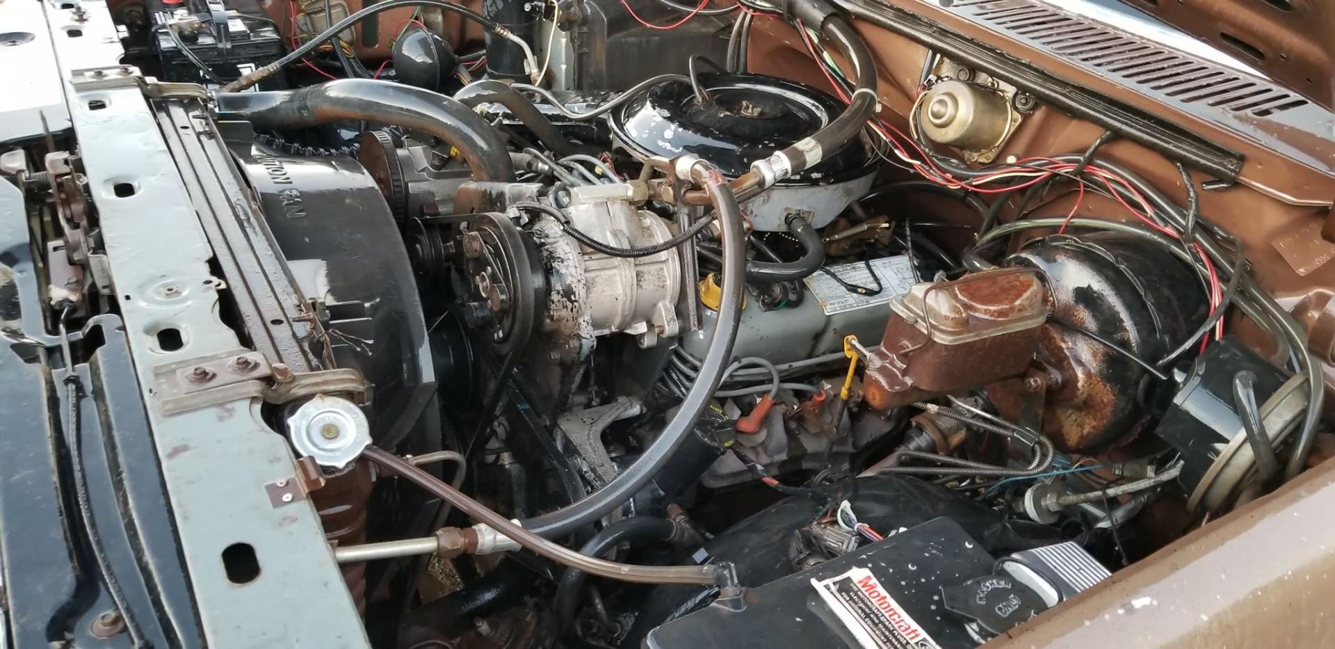 1983 Ford F250 351ci - C6 (8)