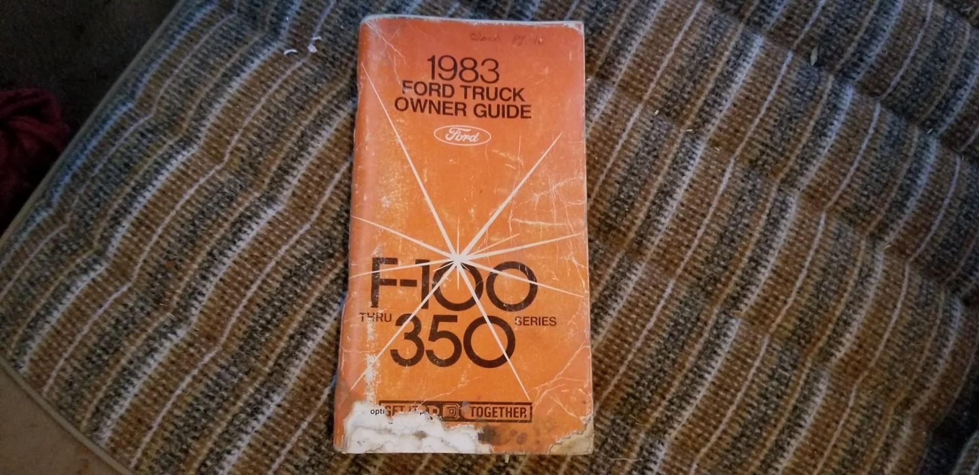 1983 Ford F250 351ci - C6 (9)