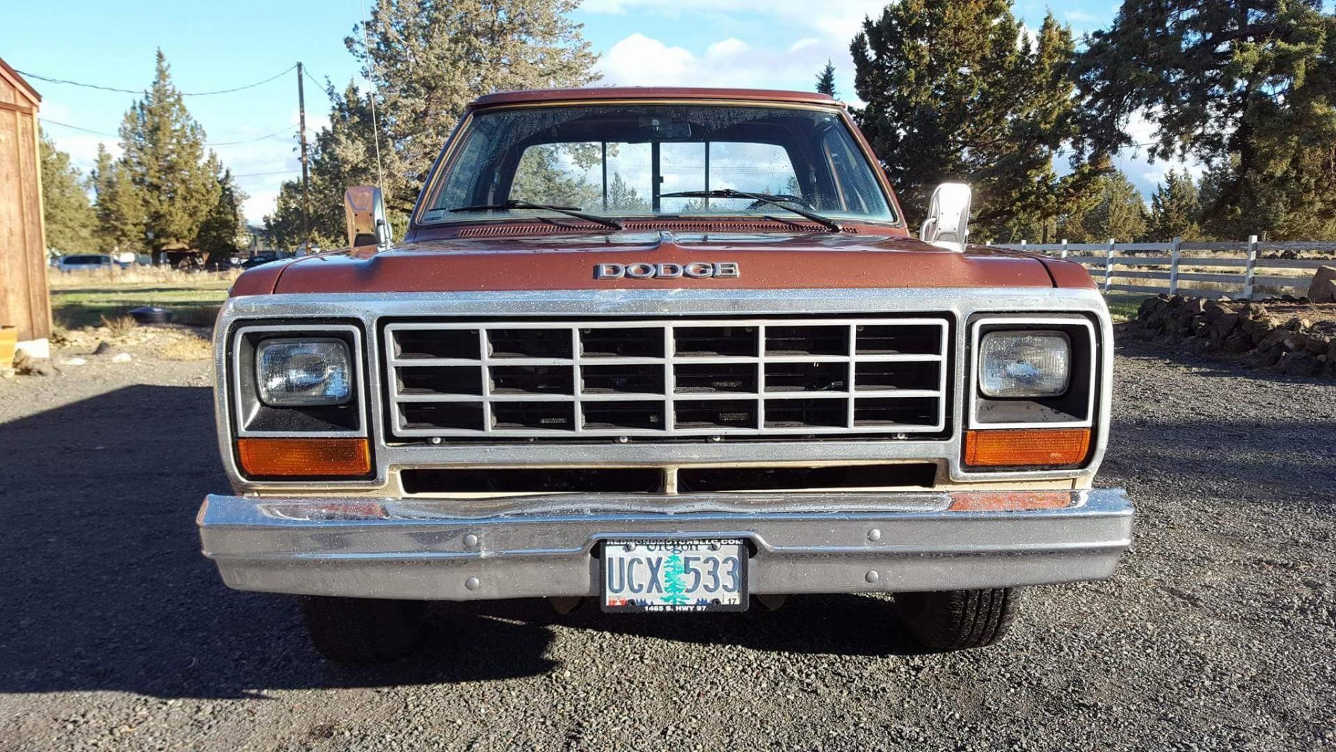 1984 dodge ram pickup with 318ci v8 speed monkey cars. Black Bedroom Furniture Sets. Home Design Ideas
