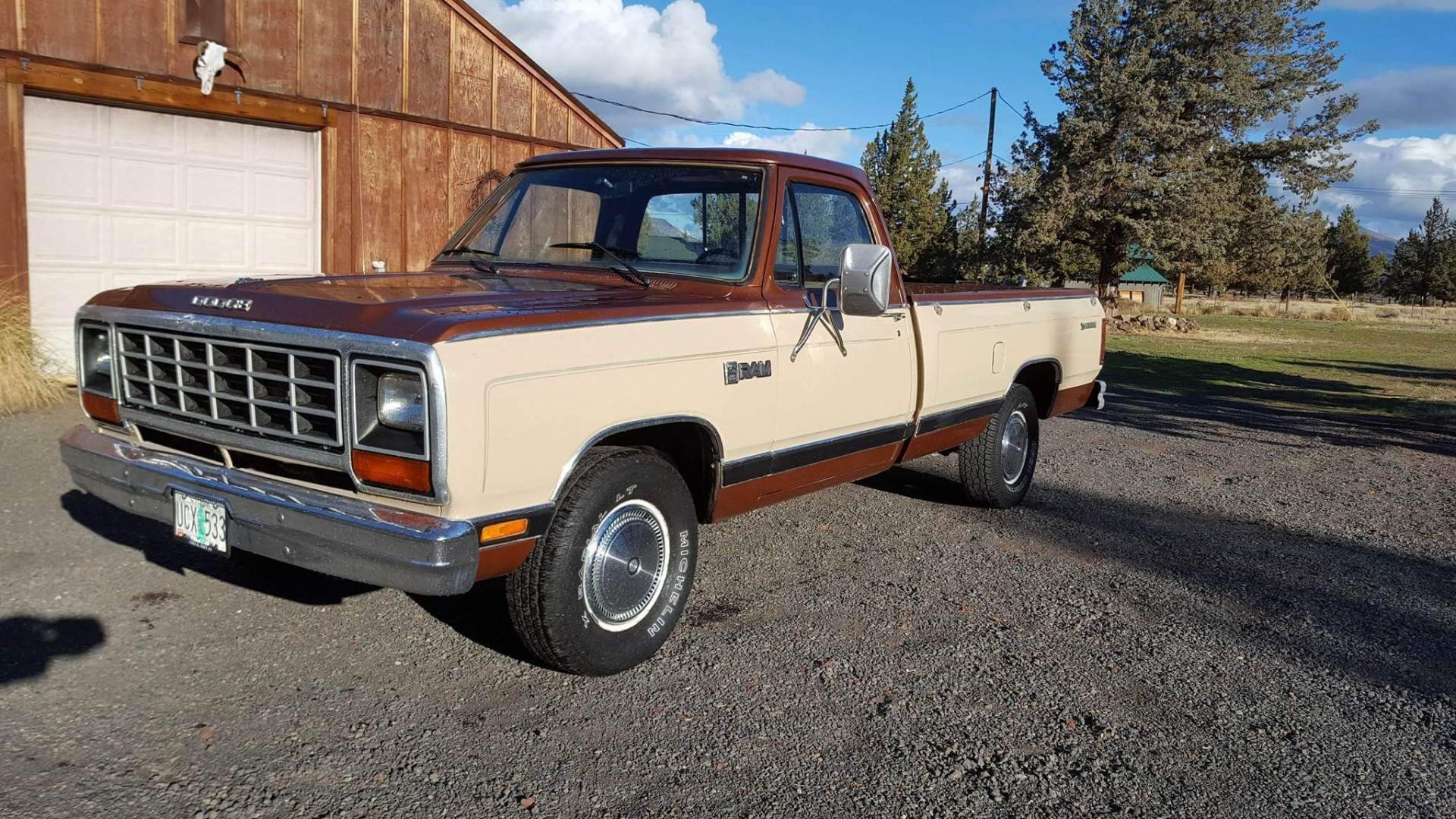 1984 Dodge RAM pickup