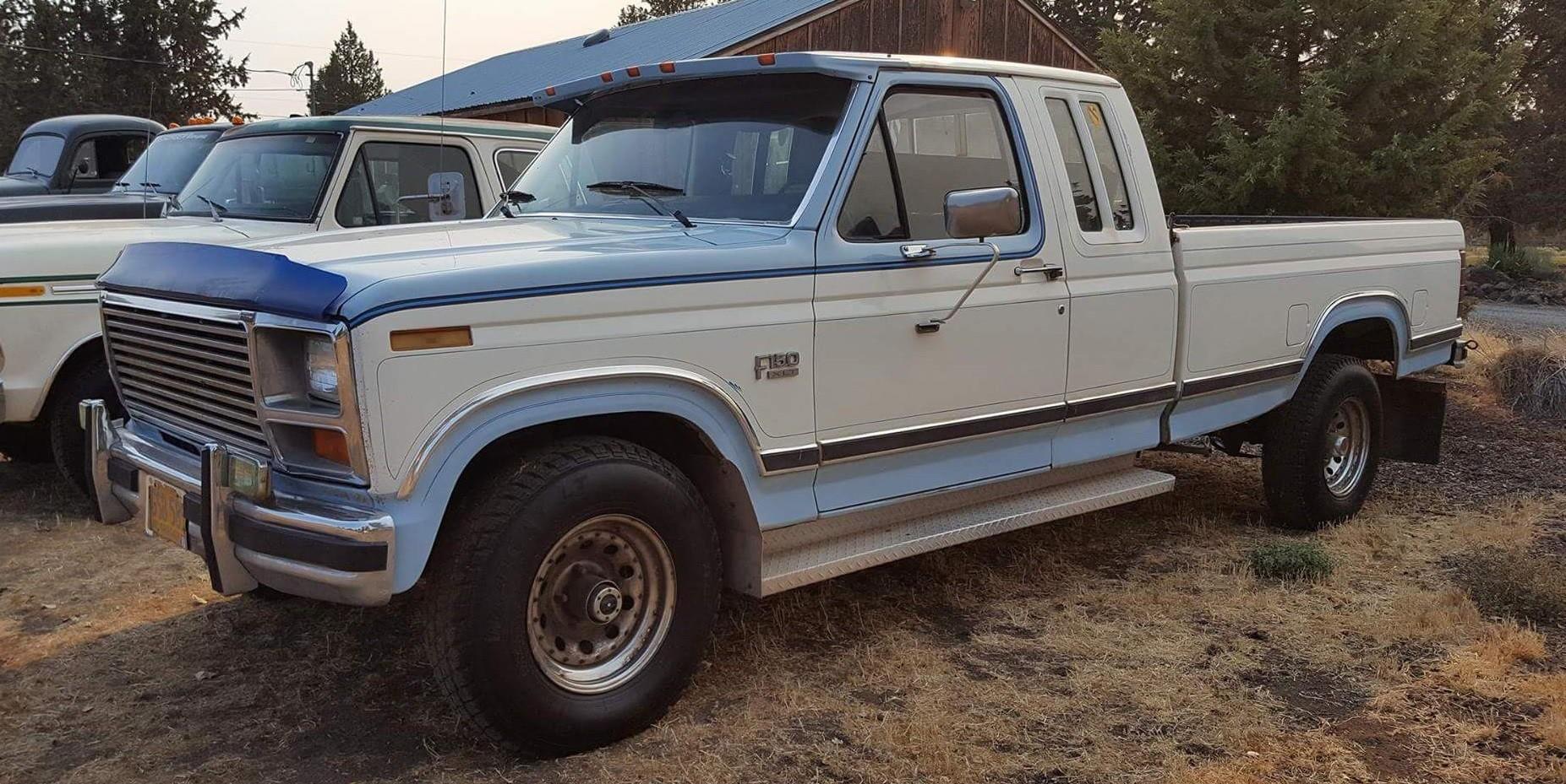 1984 ford f150 xlt lariat super cab 4x4 351ci slide