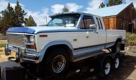 1984 Ford F150, XLT Lariat, super cab 4x4 - 351ci (1)