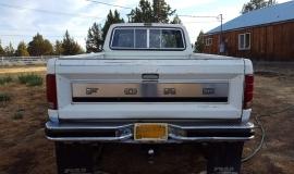 1984 Ford F150, XLT Lariat, super cab 4x4 - 351ci (7)
