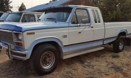1984 Ford F150, XLT Lariat, super cab 4x4 - 351ci - slide