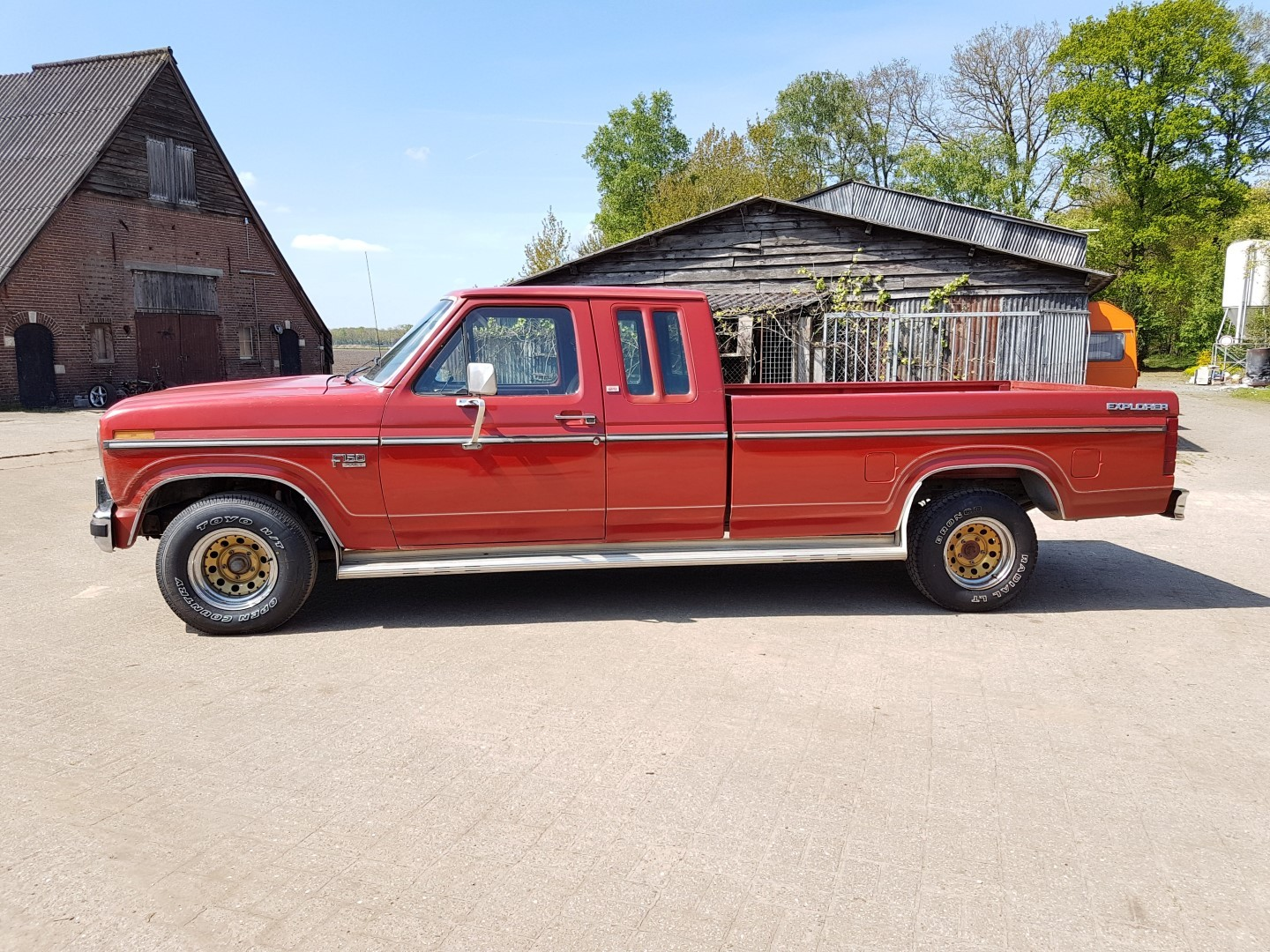 1985 Ford F150 extended cab - 302ci (18)