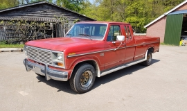 1985 Ford F150 extended cab - 302ci (17)