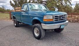 1994-single-rear-tire-Ford-F350-XL-OBS-4x4-460ci-V8-3
