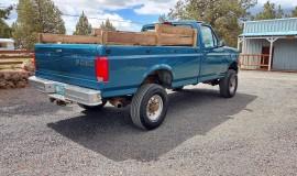 1994-single-rear-tire-Ford-F350-XL-OBS-4x4-460ci-V8-4