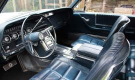 1966 Ford Thunderbird Town Hardtop 390 - White Blue (11)