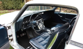 1966 Ford Thunderbird Town Hardtop 390 - White Blue (8)